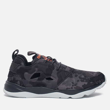 Кроссовки Reebok Furylite CC Coal/Wild Orange/Blue