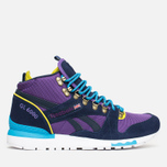 Зимние кроссовки Reebok GL 6000 Mid Ballistic Purple/Navy/Green/Blue/White фото- 0
