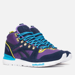 Зимние кроссовки Reebok GL 6000 Mid Ballistic Purple/Navy/Green/Blue/White фото- 1