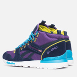 Зимние кроссовки Reebok GL 6000 Mid Ballistic Purple/Navy/Green/Blue/White фото- 2