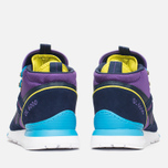 Зимние кроссовки Reebok GL 6000 Mid Ballistic Purple/Navy/Green/Blue/White фото- 3