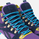 Зимние кроссовки Reebok GL 6000 Mid Ballistic Purple/Navy/Green/Blue/White фото- 5
