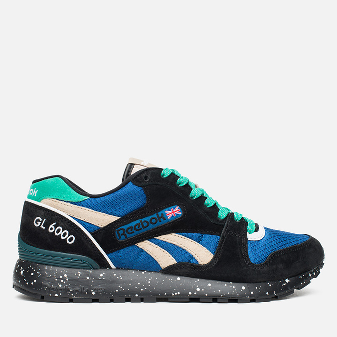 Кроссовки Reebok GL 6000 Trail Pack Black/Blue/Oatmeal