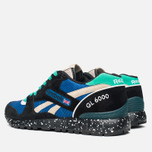 Reebok GL 6000 Trail Pack Sneakers Black/Blue/Oatmeal photo- 2