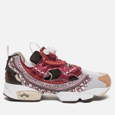 Кроссовки Reebok Instapump Fury OG B White/Dark Brown