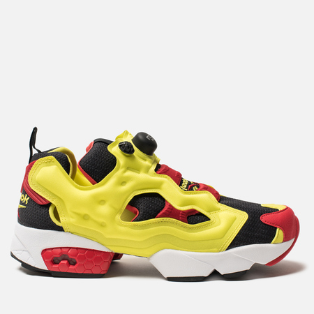 Кроссовки Reebok Instapump Fury OG Black/Green/Red/White