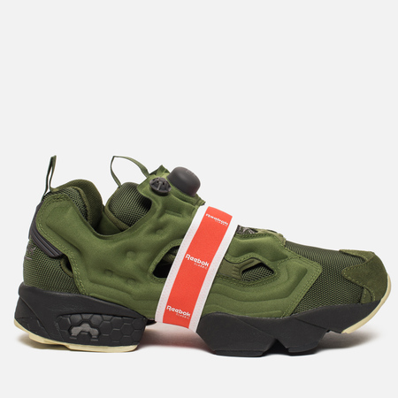 Кроссовки Reebok Instapump Fury OG Money Band Pack Wild Green/Coal/Ash