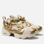 Кроссовки Reebok Instapump Fury OG MU Chalk/Gold Metallic/China Red фото- 2