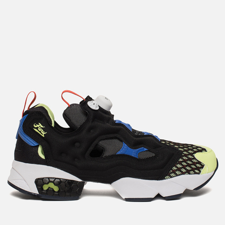 Кроссовки Reebok Instapump Fury OG S Black/White/Acid Blue