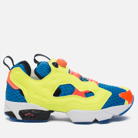 Кроссовки Reebok Instapump Fury OG Splash Modern Blue/Solar Yellow/Solar Orange/Black/White