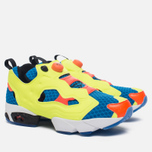 Кроссовки Reebok Instapump Fury OG Splash Modern Blue/Solar Yellow/Solar Orange/Black/White фото- 2