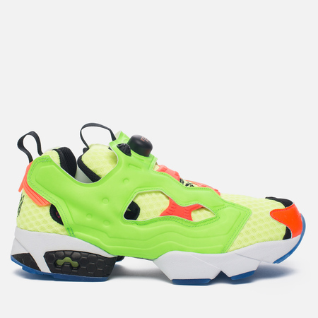 Кроссовки Reebok Instapump Fury OG Splash Solar Yellow/Solar Green/Solar Orange/Black/White