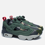Кроссовки Reebok Instapump Fury OG Villains Black/Primal Green/Baseball Grey/Scarlet/Silver Metallic фото- 1