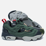 Кроссовки Reebok Instapump Fury OG Villains Black/Primal Green/Baseball Grey/Scarlet/Silver Metallic фото- 2