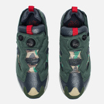 Кроссовки Reebok Instapump Fury OG Villains Black/Primal Green/Baseball Grey/Scarlet/Silver Metallic фото- 4