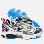 Кроссовки Reebok Instapump Fury OG Villains Silver Metallic/Black/Bright Yellow/Scarlet Ice фото- 2