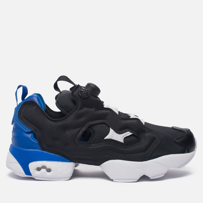Кроссовки Reebok Instapump Fury Pop Black/Vital Blue/White