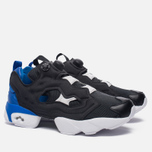 Кроссовки Reebok Instapump Fury Pop Black/Vital Blue/White фото- 2