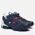 Кроссовки Reebok Instapump Fury Pop Collegiate Navy/White/Scarlet фото- 2