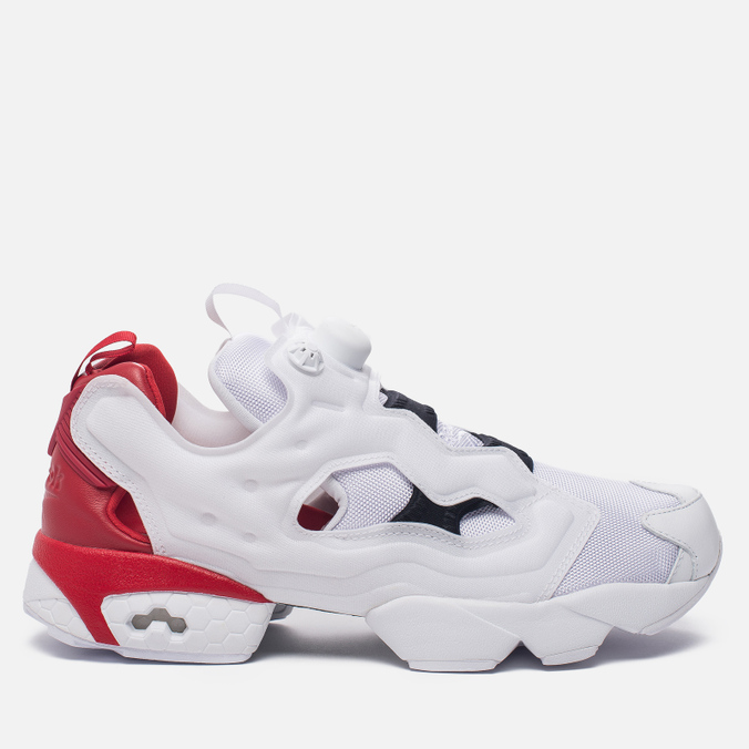 Кроссовки Reebok Instapump Fury Pop White/Scarlet/Black