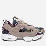 Кроссовки Reebok Instapump Fury Seasonal Graphic Pack Stone/Paper White/Green/Orchid фото- 0