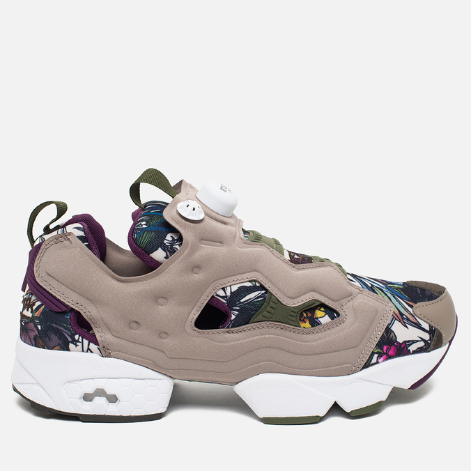 Кроссовки Reebok Instapump Fury Seasonal Graphic Pack Stone/Paper White/Green/Orchid