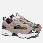 Кроссовки Reebok Instapump Fury Seasonal Graphic Pack Stone/Paper White/Green/Orchid фото- 1
