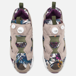 Кроссовки Reebok Instapump Fury Seasonal Graphic Pack Stone/Paper White/Green/Orchid фото- 4