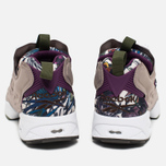 Кроссовки Reebok Instapump Fury Seasonal Graphic Pack Stone/Paper White/Green/Orchid фото- 3