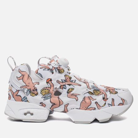Кроссовки Reebok Instapump Fury LA White/Skull Grey/Rose Gold