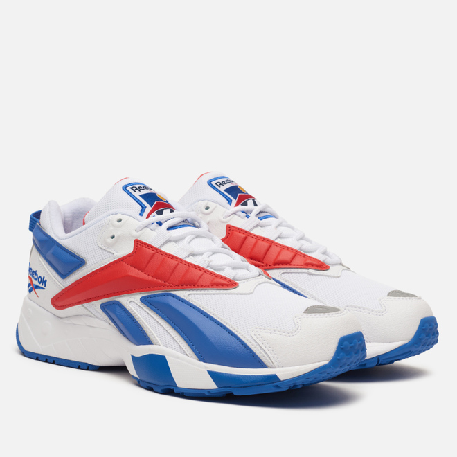 Кроссовки Reebok INTV 96 White/Blue Blast/Radiant Red