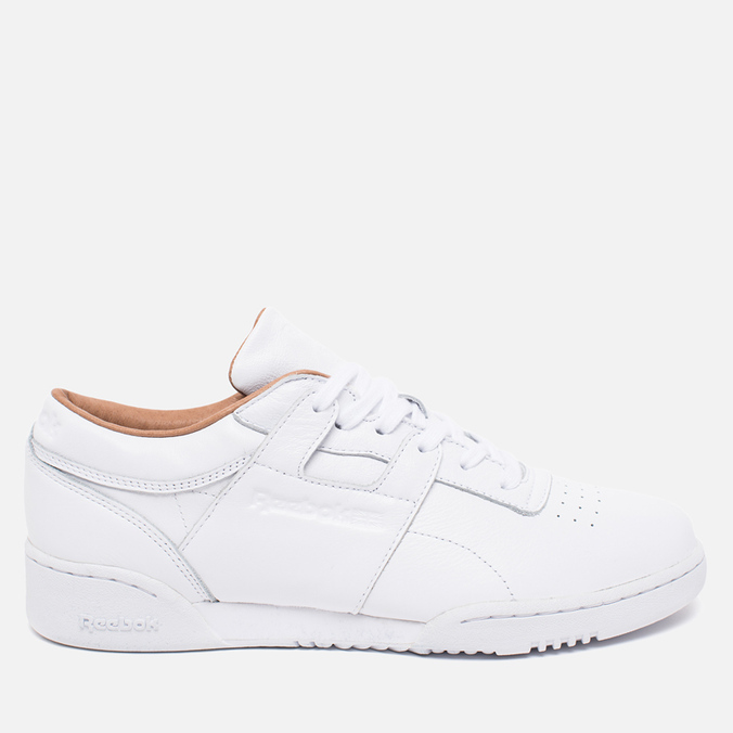 Кроссовки Reebok Workout Low Clean PN White