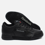 Кроссовки Reebok Workout Plus Black/Charcoal фото- 2