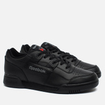 Кроссовки Reebok Workout Plus Black/Charcoal фото- 1