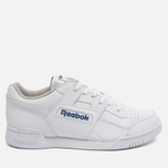 Кроссовки Reebok Workout Plus White/Royal фото- 0