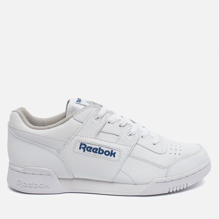 Reebok Workout Plus Men's Sneakers White/Royal