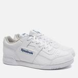 Кроссовки Reebok Workout Plus White/Royal фото- 1