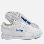 Кроссовки Reebok Workout Plus White/Royal фото- 2