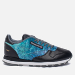 Кроссовки Reebok x Artists For Humanity Classic Leather Black/Alloy/Gold Metallic фото- 0