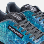 Кроссовки Reebok x Artists For Humanity Classic Leather Black/Alloy/Gold Metallic фото- 3