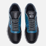 Кроссовки Reebok x Artists For Humanity Classic Leather Black/Alloy/Gold Metallic фото- 4