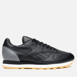 Кроссовки Reebok x Born X Raised CL Leather Black/Grey/Chalk фото- 0
