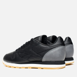 Кроссовки Reebok x Born X Raised CL Leather Black/Grey/Chalk фото- 2