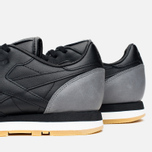 Кроссовки Reebok x Born X Raised CL Leather Black/Grey/Chalk фото- 5