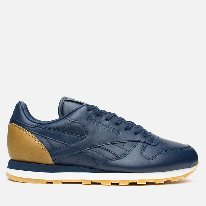 Кроссовки Reebok x Born X Raised CL Leather Navy/Brown/Chalk