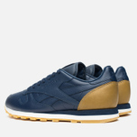 Кроссовки Reebok x Born X Raised CL Leather Navy/Brown/Chalk фото- 2