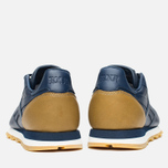 Кроссовки Reebok x Born X Raised CL Leather Navy/Brown/Chalk фото- 3