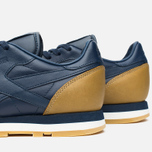 Кроссовки Reebok x Born X Raised CL Leather Navy/Brown/Chalk фото- 5