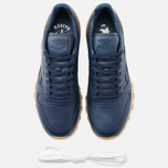 Кроссовки Reebok x Born X Raised CL Leather Navy/Brown/Chalk фото- 4