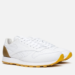 Кроссовки Reebok x Born X Raised CL Leather White/Brown фото- 1